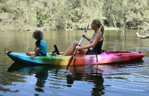 kayak packages