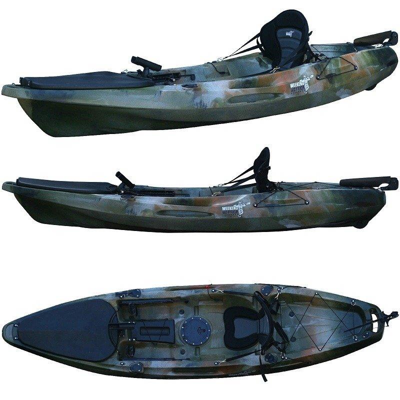Fishing kayak with rudder great white 3 3 metres for Best fishing kayak 2017