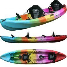 triple-kayak-sit-on-top-rainbow-1