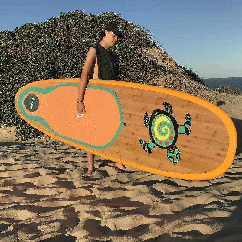 Bamboo Stand Up Paddle Board